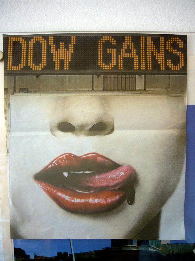 Dow Gains